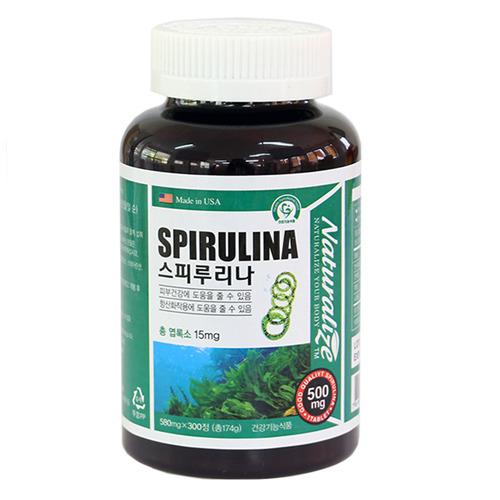 [네추럴라이즈]스피루리나 300정