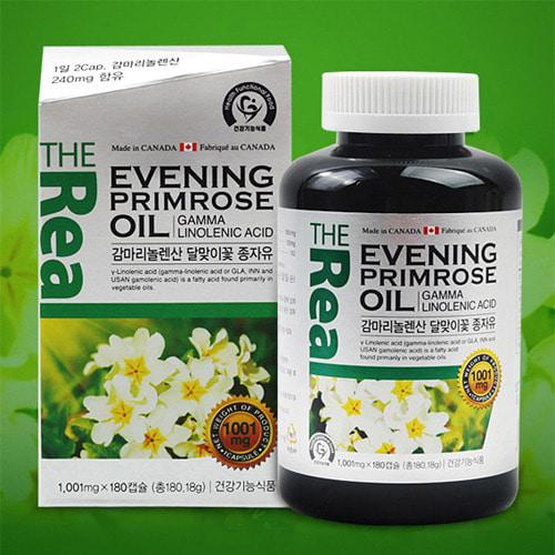 [리얼]감마리놀렌산 달맞이꽃종자유 180캡슐