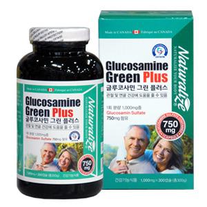[네추럴라이즈]글루코사민 그린플러스 300캡슐